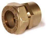 муфта труба- внутренняя резьба латунная BIC15*3/4″ (F)