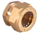 заглушка для гофрированной трубы латунная BS15*1/2″(W)