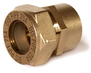 муфта труба- внутренняя резьба латунная BIC25*1″ (F)