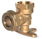 угол с креплением труба-внутренняя резьба латунный BL15*1/2″(AW)