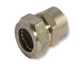муфта труба-внутренняя резьба никелированная BIC25*1″(F)N